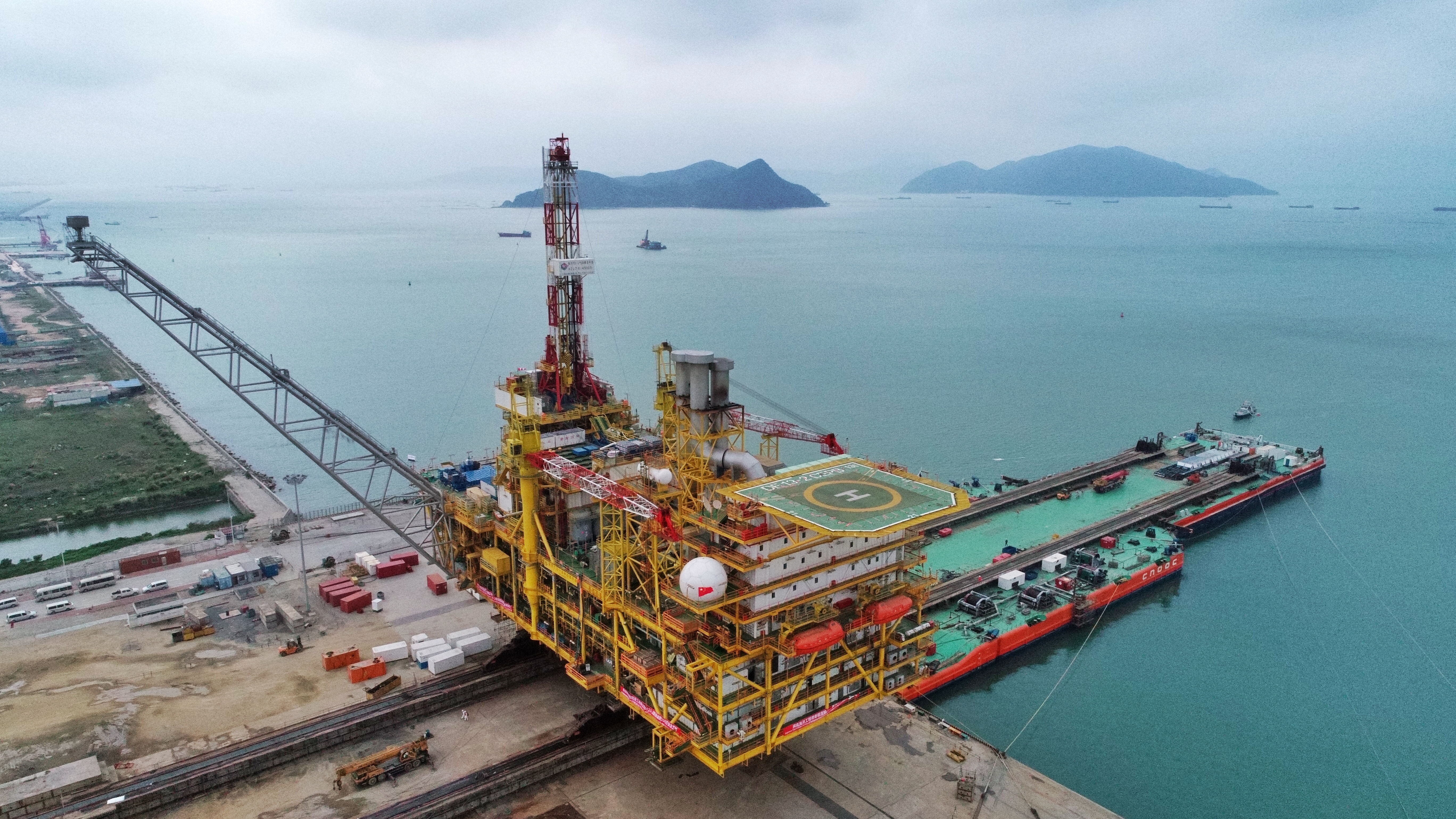 COOEC-Fluor Completes Module Fabrication for Dongfang Gas Fields