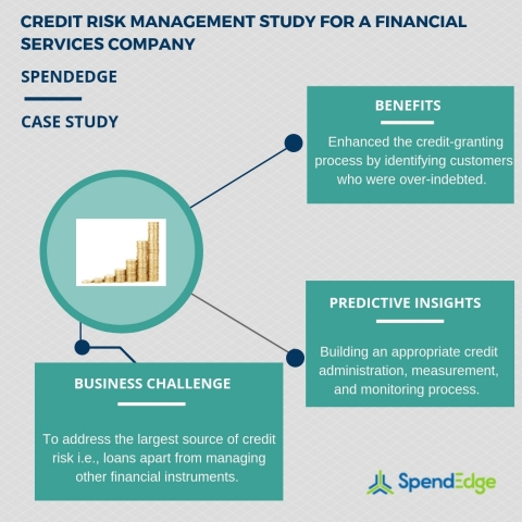 Credit risk management study for a financial services company. (Graphic: Business Wire)