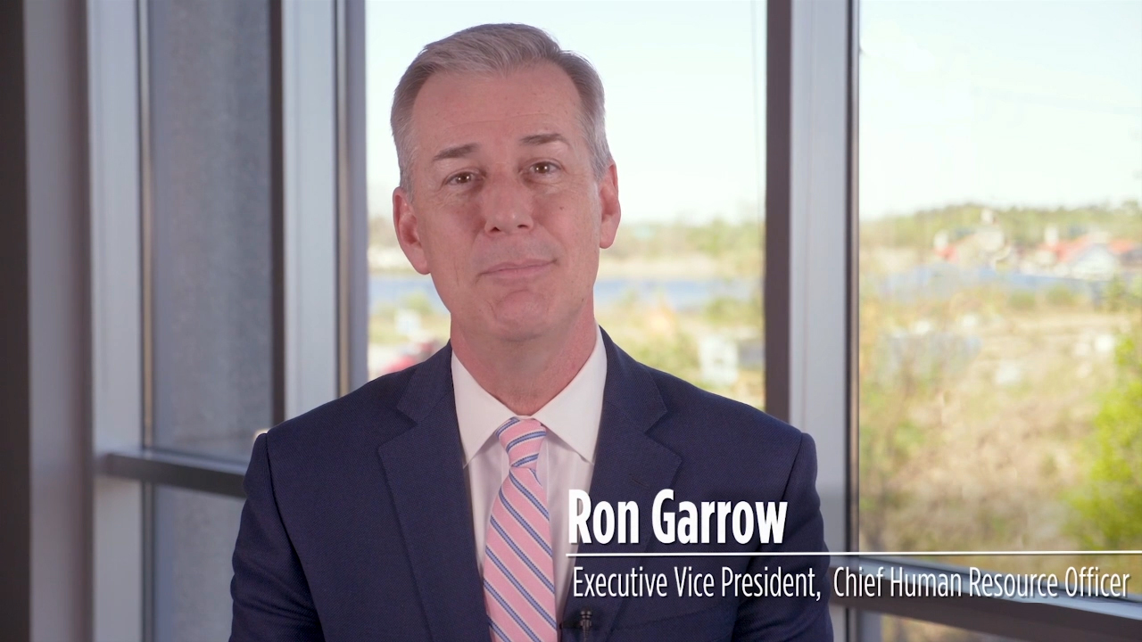 Ron Garrow, chief human resource officer, discusses how PPD's culture is shaped and how its success is driven by its employees.