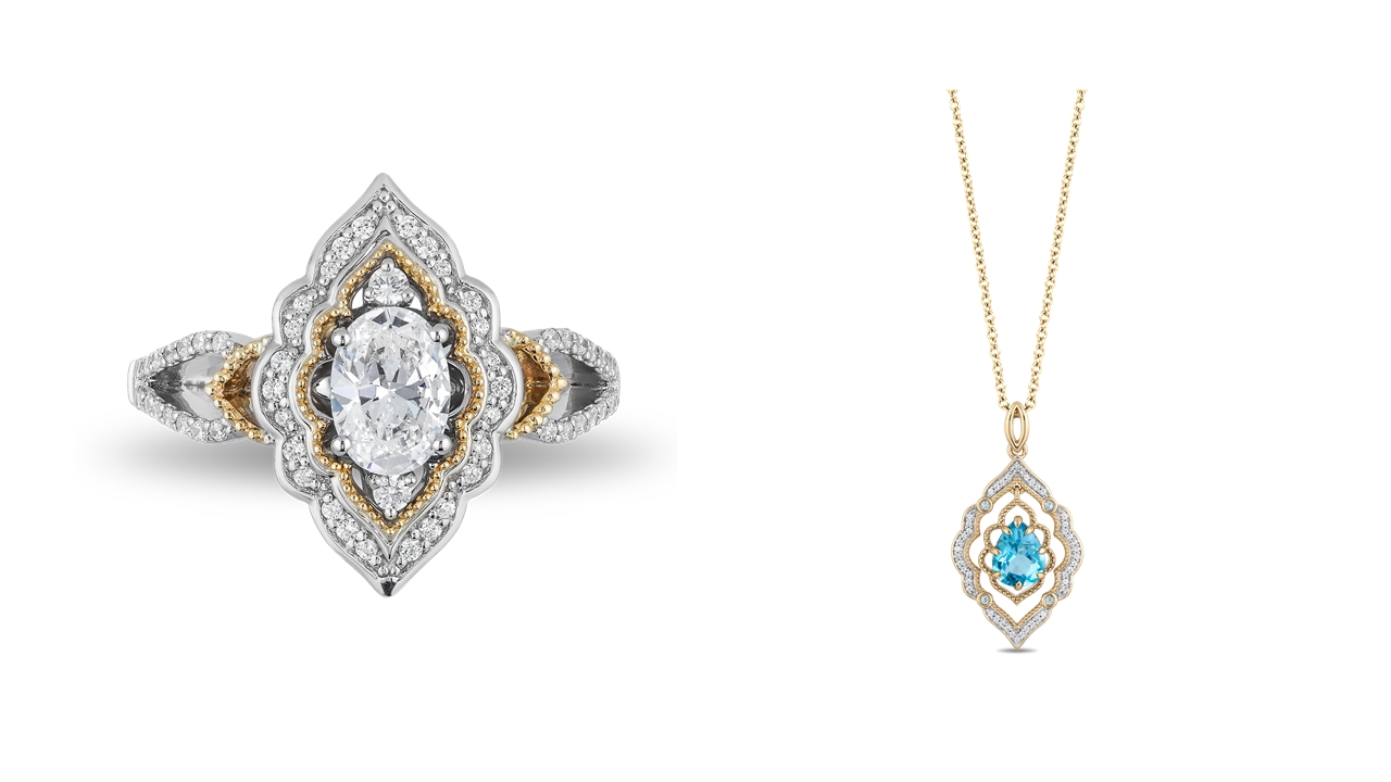 a6105bbe0 Zales Unveils Exclusive Enchanted Disney Fine Jewelry Designs Inspired By  Disney's Live-Action Aladdin | Business Wire
