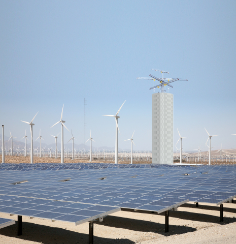 Energy Vault - Solar PV and Wind Storage (Photo: Business Wire)