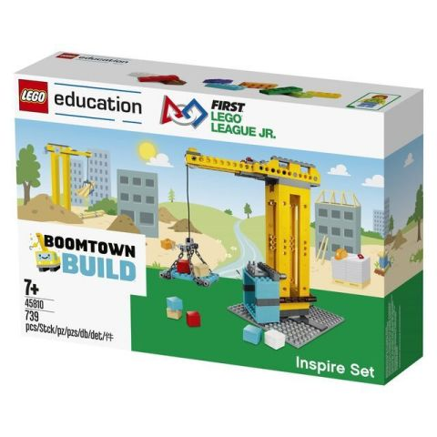 FIRST® LEGO® League Jr. BOOMTOWN BUILD Inspire Set (Photo: Business Wire)