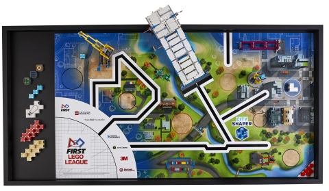 FIRST® LEGO® League CITY SHAPER Challenge Set (Photo: Business Wire)