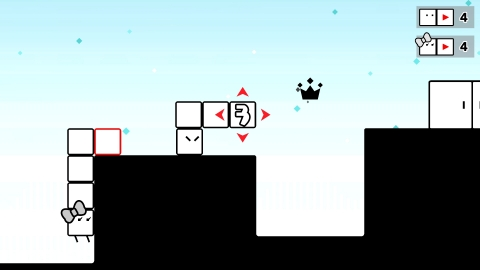 In BOXBOY! + BOXGIRL!, two players can work together to solve puzzles, or one player can alternate b ...