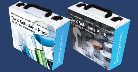 Customers may request a demonstration of the DWK Solutions Pack for research or for packaging & production. (Photo: Business Wire)