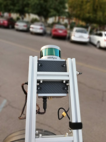 Techmake Solutions is including Velodyne lidar sensors in its Eagle X mapping and surveying system. (Photo: Business Wire)