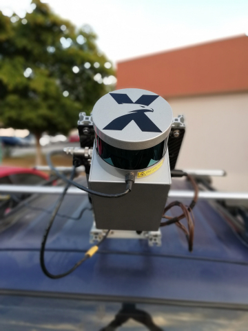 Techmake Solutions' Eagle X, using Velodyne lidar, addresses aerial-mapping system needs in geography, surveying, topography, and natural resource management. (Photo: Business Wire)