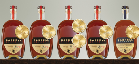 Barrell Craft Spirits Takes the Gold (Photo: Business Wire)