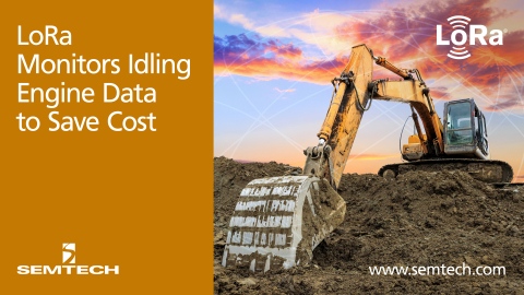 Semtech's LoRa Technology Enables More Efficient Construction and Mining Machines (Photo: Business W ...