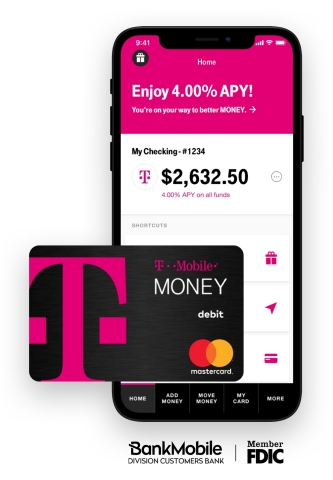 T-Mobile US, Inc  - Bye, Big Banks  Hello, T-Mobile MONEY