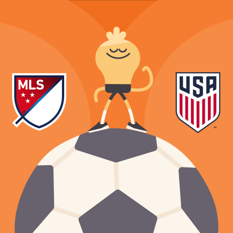 Major League Soccer and U.S. Soccer Partner with Headspace in Multi-Year Deal (Graphic: Business Wire)