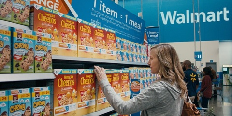 "Walmart and Sam's Club's ""Fight Hunger. Spark Change."" Campaign Aims to Achieve Big Impact Toward Hunger Relief. (Photo: Business Wire)"