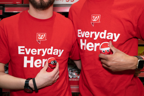 Walgreens kicks off 2019 Red Nose Day (Photo: Business Wire)