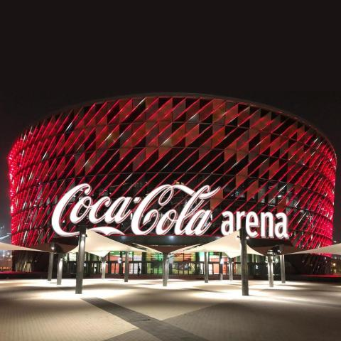 The Coca-Cola Arena, Dubai (Photo: AETOSWire)