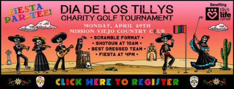 Sold out TILLYS Annual Golf Tournament to Benefit Tilly's Life Center (Graphic: Business Wire)