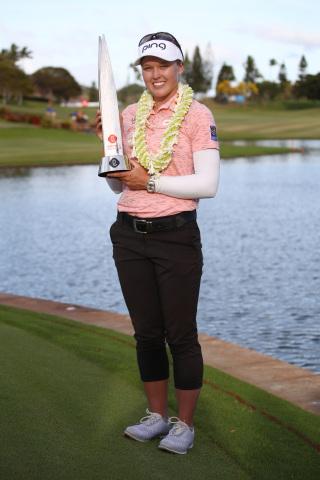 Skechers Performance elite golfer Brooke Henderson wins the Lotte Championship two years running in  ...