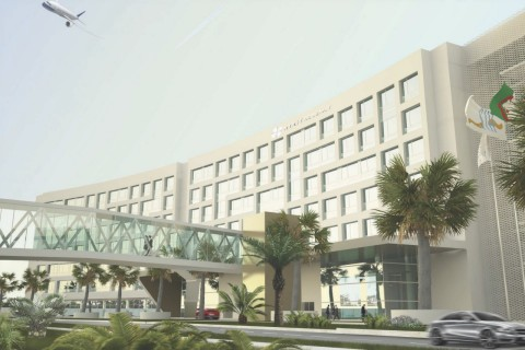 Entrance to Hyatt Regency Algiers Airport (Photo: Business Wire)