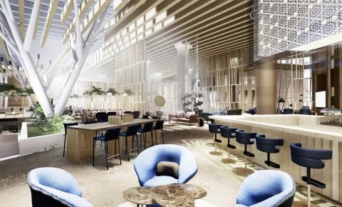 Palmette Bar at Hyatt Regency Algiers Airport (Photo: Business Wire)