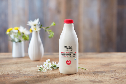 Hart Dairy has been named the first pasteurized U.S. Dairy Cow Operation to earn the Certified Humane® designation from Humane Farm Animal Care (HFAC). (Photo: Business Wire)