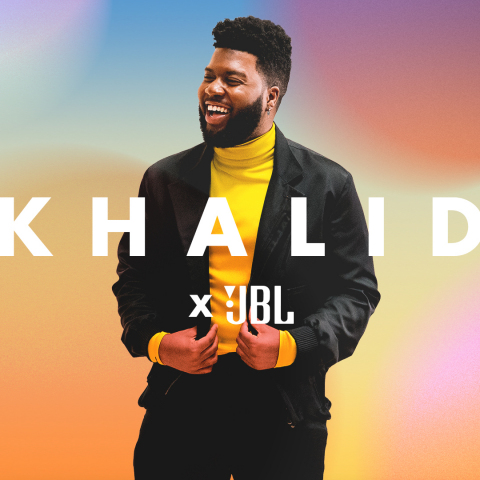 JBLxKhalid: Global Superstar Named JBL® Global Brand Ambassador (Photo: Business Wire)