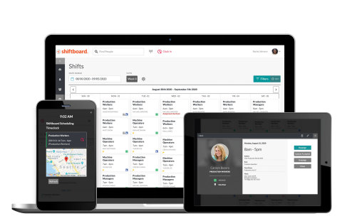 Extending across web browsers, iOS and Android phone apps, the new UX was based on direct customer input and market research, ensuring the design met the needs of dynamic workforces. (Photo: Business Wire