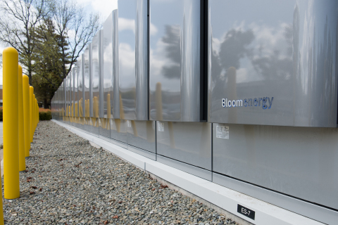 Bloom Energy Servers installed at Agilent Technologies (Photo: Business Wire)