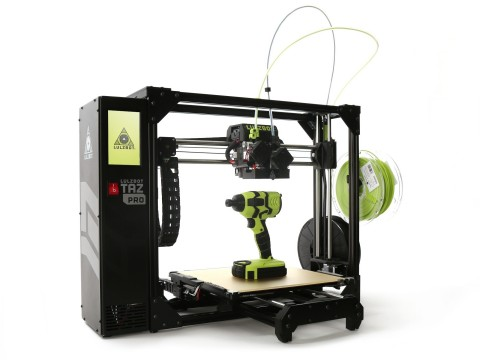 With the LulzBot TAZ Pro industrial desktop 3D printer, it's easy to deliver professional multi-material and soluble support printing (Photo: Business Wire)