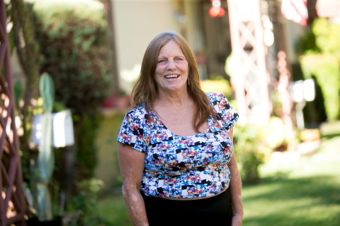 Dorothy Edwards was homeless in Pasadena for eight years before being placed in permanent supportive housing, and now serves on the Corporation for Supportive Housing board of directors. (Photo: Business Wire)