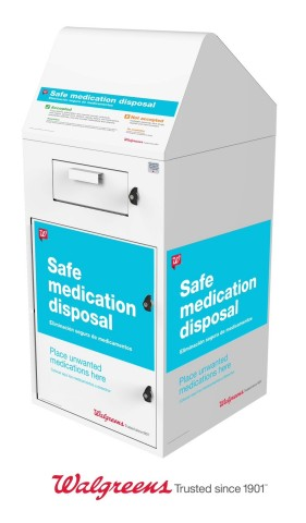 Walgreens safe medication disposal program collects 1.2 million pounds unwanted medication (Photo: Business Wire)
