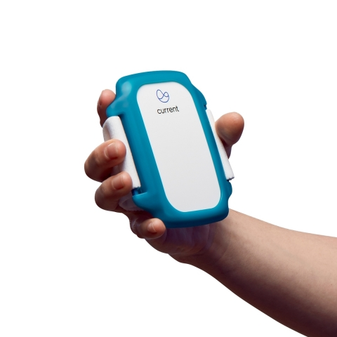 The Current Health wireless wearable continuously monitors the human body in real time with ICU-level accuracy. (Photo: Business Wire)