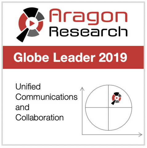 Fuze Named A Leader in the 2019 Aragon Research Globe™ for Unified Communications and Collaboration (Photo: Business Wire)