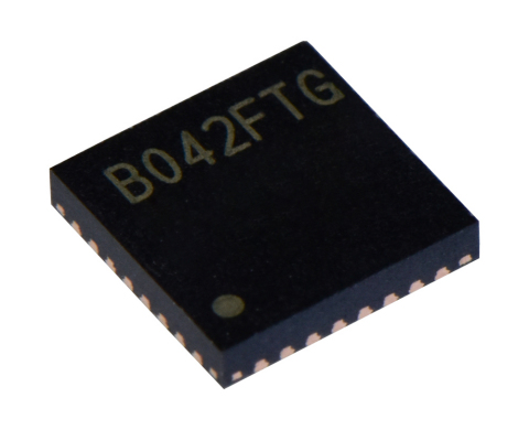 "Toshiba: Three-phase brushless motor sine wave controller IC ""TC78B042FTG"" housed in a VQFN32 package. (Photo: Business Wire)"