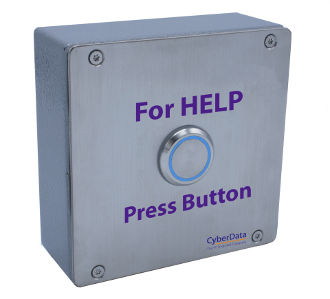 CyberData's new SIP Outdoor Call Button (Photo: Business Wire)