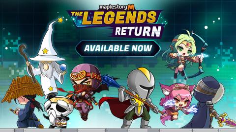 MapleStory M Legends Return (Graphic: Business Wire)