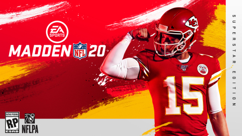 Kansas City Chiefs QB Patrick Mahomes on the cover of EA SPORTS Madden NFL 20 (Photo: Business Wire)