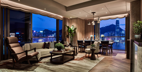 K11 ARTUS luxury rental residence features jaw-dropping harbour view.