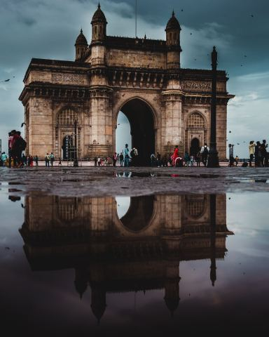 Internationally renowned Gateway of India Mumbai. Photo courtesy of Parth Vyas.