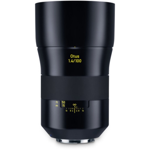 The portrait-length focal length pairs with the bright f/1.4 maximum aperture to afford extensive co ...