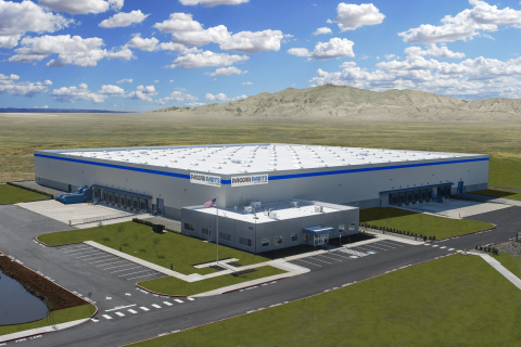 New PACCAR Parts Distribution Center in Las Vegas, Nevada (rendering) (Photo: Business Wire)