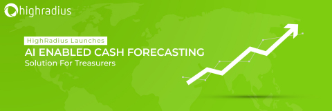 HighRadius launches AI-enabled cash forecasting solution for treasurers (Graphic: Business Wire)