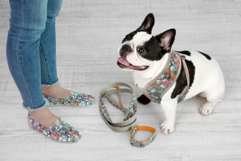 Skechers and Petco have launched a new coordinated line of BOBS footwear and dog accessories at Petc ...