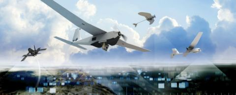 AeroVironment's Family of Small Unmanned Aircraft Systems and Switchblade Tactical Missile System protect troops in the most rugged environments (Photo: Business Wire)