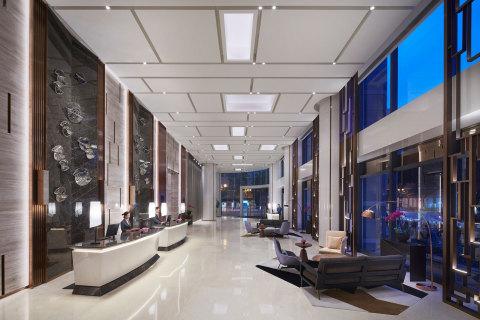 Lobby at Hyatt Regency Liberation Square Chongqing (Photo: Business Wire)