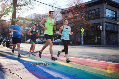 Brooks Running Company and International Front Runners team up to promote inclusion and community through running. (Photo: Business Wire)