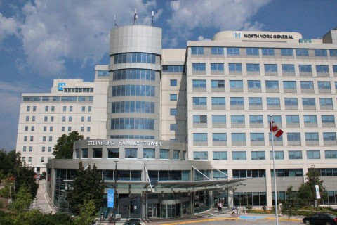 North York General Hospital is one of the leading academic hospitals in Canada. (Photo: Business Wire)