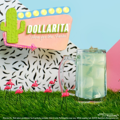 The Cocktail That Started the $1 Drink Craze – the DOLLARITA®– Returns to Applebee's  (Photo: Business Wire)