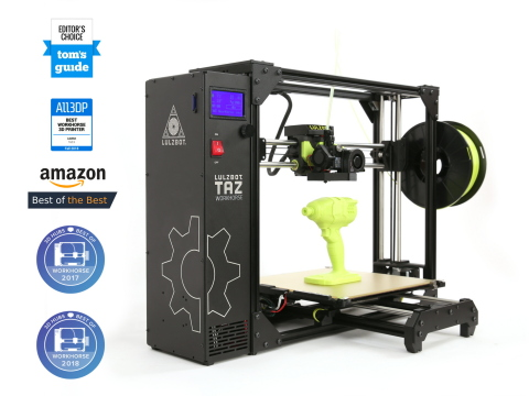 The LulzBot TAZ line of 3D printers has earned the reputation as the industry workhorse. The next generation TAZ Workhorse is larger and faster with better quality prints. (Photo: Business Wire)