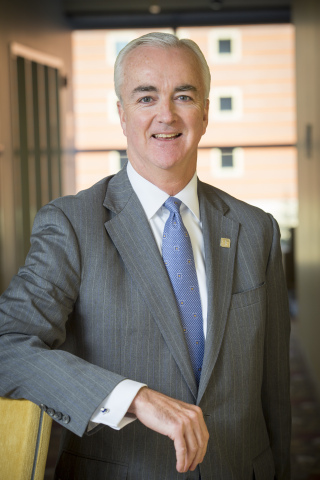 Phil McHugh, executive vice president, Fifth Third Bank and Fifth Third Day corporate champion. (Pho ...