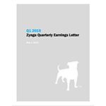 Q1 2019 Zynga Quarterly Earnings Letter
