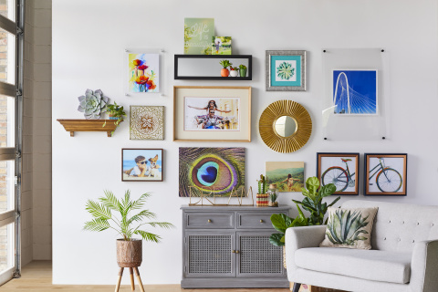 Custom Framed Gallery Wall (Photo: Business Wire)